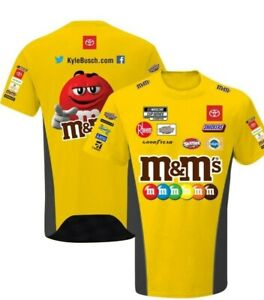 Kyle Busch #18 M-Ms Youth 2020 Pit Crew Drivers T-Shirt