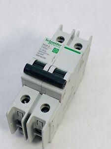 SCHNEIDER ELECTRIC M9F42230 2Pole MULTI 9 C60BP  C30A CIRCUIT BRAKER
