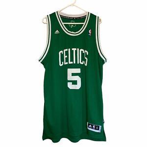 Adidas NBA Boston Celtics Men's Kevin Garnett #5 Green Jersey Patched Size XL