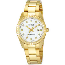 "WATCH LORUS ""STRASS"" CLASSIC LADY ACCIAIO GOLD RJ282AX9 - NEW (LIST. € 79,00)"