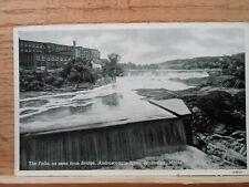 New Brunswick Me Maine, The Falls, Androscoggin River ,early postcard