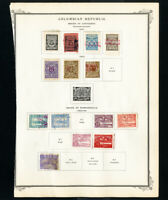 Colombia Stamps 1901-1918 Lot of 170 Mint & Used