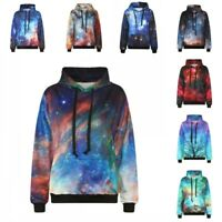 Nebula Galaxy 3D Print Women Men Hoodie Sweatshirt Jacket Pullover Graphic Coat