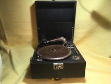 Vintage wind up gramophone