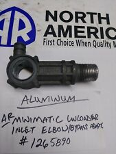 USED - AR COMBISET Unloader Bypass / Inlet elbow.  Also fits AR630