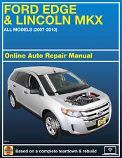 2007 Ford Edge Haynes Online Repair Manual-Select Access