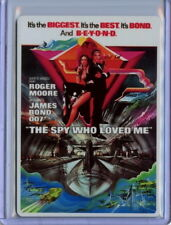 2016 James Bond Archives Spectre Movie Poster Metal M10 The Spy Who Loved Me 100