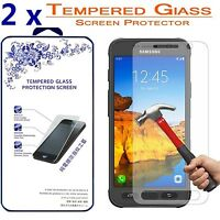[2 Pack] For Samsung Galaxy S7 Active [Tempered Glass] Screen Protector