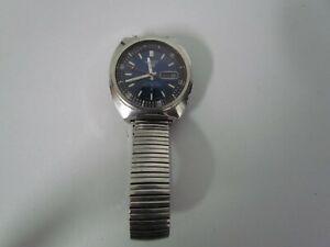 Vintage Seiko Sports 21 Jewel 6119-6020 Waterproof Wrist Watch for Repair Parts