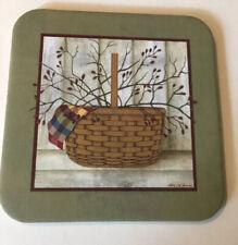 New ListingLongaberger Coasters With Large Basket And Wine Napkin