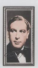 1936 Godfrey Phillips Stars of the Screen #24 Sir Cedric Hardwicke Card 0v9