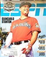 ESPN The Magazine March 30,2015 MLB Preview Giancarlo Stanton Yankees Marlins