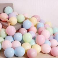 "100 Quality Pastel Finish 10"" INCH Small Round Latex Balloons Choose Colour"
