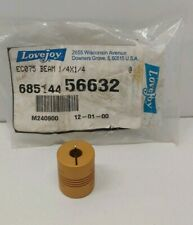 "NEW OLD STOCK! LOVEJOY 1/4"" X 1/4"" FLEXIBLE COUPLING EC075 68514456632"