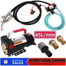 12V DC 45L/min Electric Bowser Fuel Transfer Pump Station Diesel Oil Fuel Auto