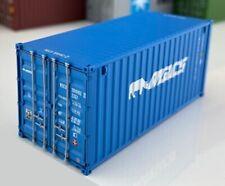 PT Trains 820016 HO 1:87 20DV 20ft Shipping Container - MACS #MOCU 3001822