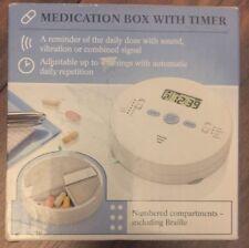 NUOVO farmaco/Pillola Casella con timer