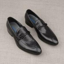 Men's British Fashion Pointy Toe Leather Shoes Formal Party Groom Dress Shoe N70