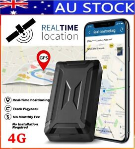 ✅AU STOCK 4G Magnetic Vehicle GPS Real Time Tracking Locator Smart Tracker Alarm
