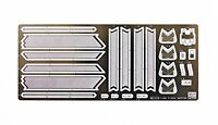 Hasegawa 1/48 Etching Parts for F-22 Raptor Detail Up Parts NEW from Japan