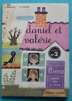Daniel et Valérie Fernand Nathan lisons méthode mixte de lecture livret n°2