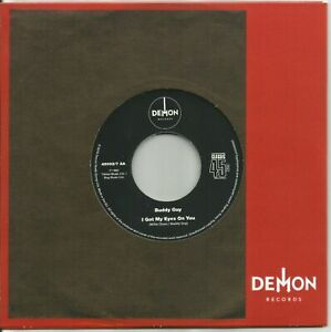 """BUDDY GUY - THE FIRST TIME I MET THE BLUES / GOT MY EYES ON YOU - 7"""" Mint"""
