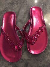 Kenneth Cole Girl's Jeweled Sandal
