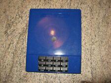 Telefonverzeichnis blau ca. 1980 unbenutzt Telefonablage