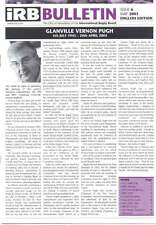 Bulletin CISR question 6 mai 2003 magazine Rugby Afrique du Sud RWC 2007 Vernon Pugh