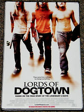 LORDS OF DOGTOWN 2005 ORIG. 11x17 MOVIE POSTER! HEATH LEDGER SKATEBOARD CLASSIC!
