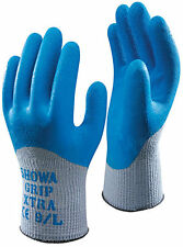 10 Pairs of SHOWA 305 Grip Xtra Gloves Latex Coating Mechanical Resistance