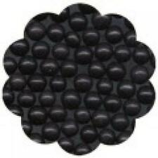 Edible Sugar Pearls Dragees Decoration Balls - BLACK 2 oz.