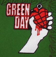 GREEN DAY PATCH Brodé Embroidered American Idiot NEUF e