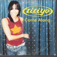 CD SINGLE 2 TITRES--TITIYO--COME ALONG--2001