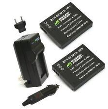 DMW-BCM13 BCM13E Battery Charger f Panasonic DMC-FT5 DMC-TS5 TZ71 ZS30 ZS50 TZ55