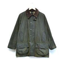 Barbour Beaufort Men's Green Wax Jacket Coat Size C40/102cm Made in England