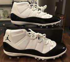 Nike Air Jordan XI 11 Retro TD Concord Space Jam Football Cleats Size 17 NIB!!