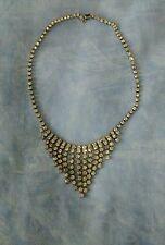 Vintage Diamanté/Rhinestone Art Deco Style Choker Necklace VGC