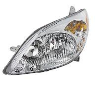 for 2003 2008 Toyota Matrix Left Driver Headlamp Headlight 03 04 05 06 07 08 LH