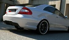 Paraurti posteriore TUNING MERCEDES Clk w209 2002 > 2009 AMG LOOK maxton design