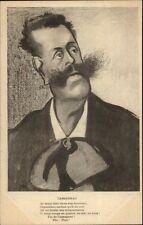 Propaganda Satire French Paul Cassagnac Politician Caricature c1900 Postcard