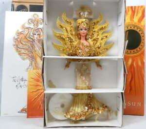 Bob Mackie Goddess of Sun Barbie Doll w/Box & Shipper #14056 8th NRFB 1995 NEW