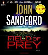 FIELD OF PREY unabridged audio book on CD by JOHN SANDFORD - Brand New! 11.5 hrs