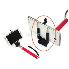 Clip Bracket Monopod Tripod Stand Mount Holder Adapter For Selfie Stick Phone CA