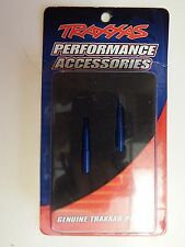 TRAXXAS - WHEEL SPINDLES, FRONT, 7075-T6 ALUMINUM, BLUE-ANODIZED - MODEL# 5537X