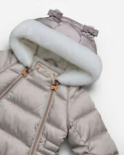 TED BAKER PEARLISED CHAMPAGNE MINK PRAM SNOWSUIT ANESCA BNWT 0-3 MONTHS