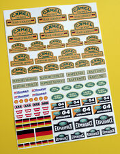 RC Rock Crawler 'CAMEL TROPHY TEAM GERMANY' 10th scale stickers decals RC4WD