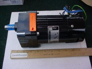 Bodine 34R6BFC1-W2 Gearmotor 181 rpm reversible 1/9 HP