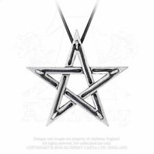 Colgante estrella pentagrama talismán Tethered Hex pendant P831 Alchemy