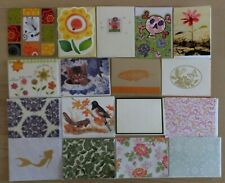 45 Greeting Note Cards, Blank Inside, With Envelopes, No duplicates